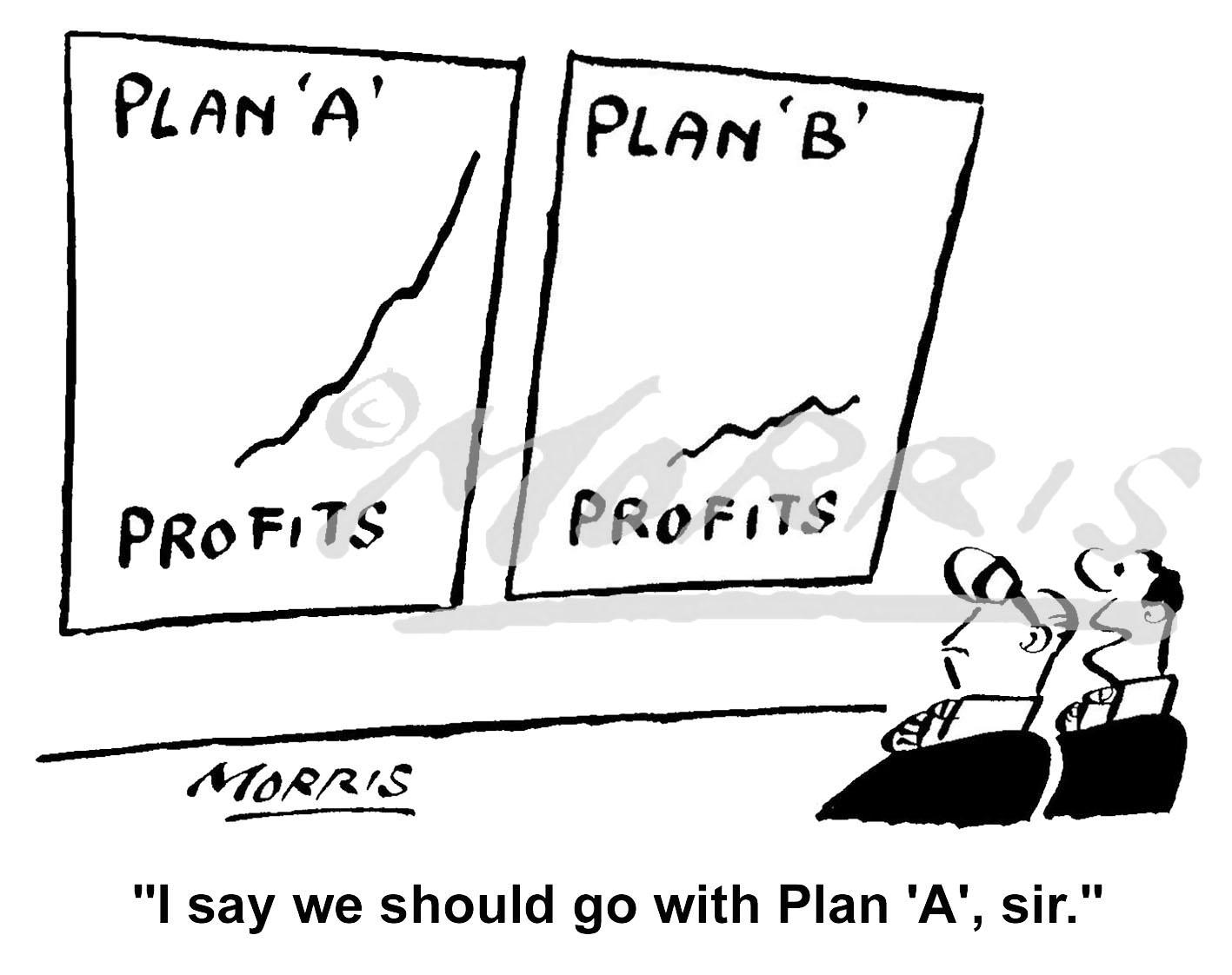 Boardroom Profits graph – Ref: 1997bw